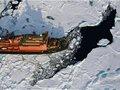 天伦天极地探险队袁茹 第三次成功登陆北极点